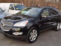 Equipped to the max, this sweet Traverse LTZ has it