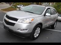 2011 CHEVROLET TRAVERSE LT -ALL WHEEL DRIVE - BRIGHT