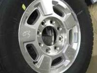 Brand new take wheels and tires from 2011 Chevy 2500HD