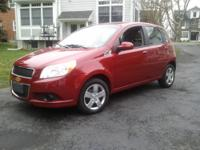2011 CHEVY AVEO 5LT note: VERY NICE STYLE AND DESIGN