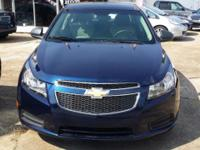Up for sale is a Blue 2011 Chevy Cruze. *** This