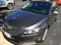 We are pcsing and selling our 2011 Chevy, Cruze Eco, it
