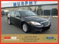 This outstanding example of a 2011 Chrysler 200 4dr Sdn