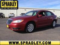 2011 Chrysler 200 4dr Car LX Our Location is: Spradley