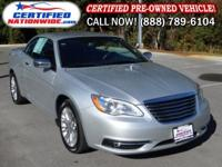 OWNER VEHICLE! This 2011 Chrysler 200 Limited is nicely