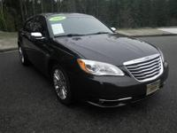 This 2011 Chrysler 200 Limited has less than 90k