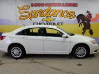 White 2011 Chrysler 200 LX FWD Automatic 2.4L