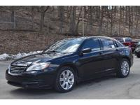 Low-mileage Chrysler 200 Touring equipped with a 3.6L