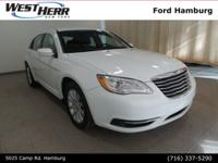 New Price! 2011 Chrysler 200 Touring Bright White
