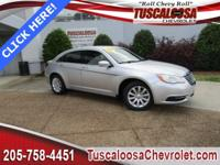 This 2011 Chrysler 200 Touring in Silver features: 2.4L