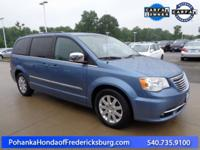 This 2011 Town and Country is a one owner vehicle and