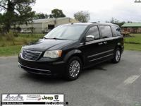 Black 2011 Chrysler Town & Country Limited FWD 6-Speed