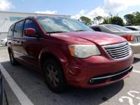 Deep Cherry Red Crystal 2011 Chrysler Town & Country