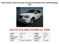 2011 Chrysler Town&Country Touring Front-wheel Drive