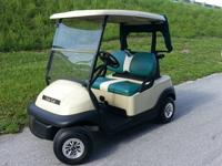 2011 Club Car Precedent Golf Cart with Head and Tail