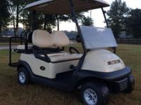 2011 Club Car Precedent 48V golf cart. Fresh condition.