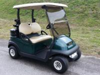 2011 Club Vehicle Precedent Golf Cart with the Street