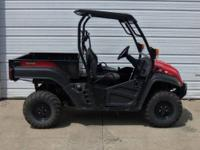 2011 Cub Cadet Volunteer 4x4 Diesel is like new with