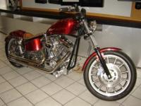 This is 2011 custom developed Harley Davidson Dyna FXR.