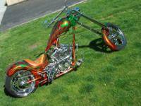 2011 Custom Chopper By Legendary Choppers of Boise. 127