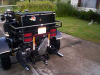 Custom built trike and trailer for sale. VW engine has