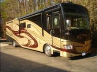 This RV is built on a Freightliner Chassis with