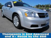 2011 Dodge Avenger Express Sedan....A Sensible Mid-Size