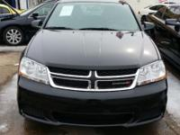Up for sale is an Black 2011 Dodge Avenger. ***This