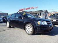 Drive away with this beautiful 2011 Dodge Avenger. Down