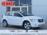 Options:  2011 Dodge Caliber Mainstreet|White|Very Low