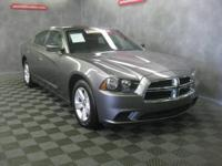 Charger SE, 4D Sedan, 5-Speed Automatic, RWD, Gray,