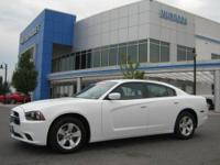 2011 Dodge Charger SE V6 - 34,000 miles - White with