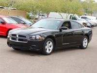 Clean CARFAX.  2011 Dodge Charger SE 18/27mpg 3.6L