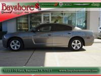 This 2011 Charger gets great gas mileage it averages 18