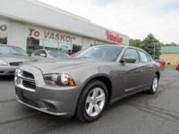 VERY SHARP 2011 DODGE CHARGER IN TUNGSTEN METALLIC.