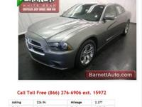 2011 Dodge Charger Tungsten Metallic V6 3.6L Flexible