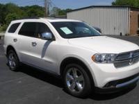 2011 DODGE DURANGO CITADEL SUV - Gorgeous Stone White