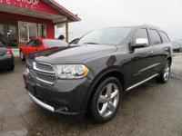 Options:  2011 Dodge Durango Navigation! Rear Dvd