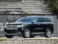 Recent Arrival! Dark Charcoal 2011 Dodge Durango