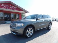 Options:  2011 Dodge Durango Navigation Moonroof Heated