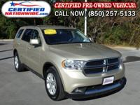 ONE OWNER VEHICLE! This 2011 Dodge Durango is perfectly