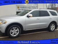 This accident FREE, 2011 Dodge Durango Crew comes with