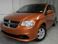 Exterior Color: orange, Body: Mini-van, Passenger,