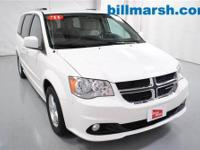 Grand Caravan Crew, White, 2nd Row Buckets