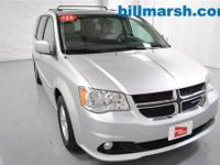 Grand Caravan Crew, Silver, Automatic temperature