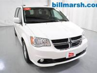 Grand Caravan Crew, White, Automatic temperature