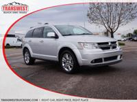 Options:  2011 Dodge Journey Crew|Silver|Black