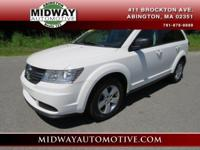 White 2011 Dodge Journey Express FWD 4-Speed Automatic