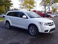Options:  2011 Dodge Journey R/T|White|Clean Carfax.