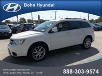 Bohn Hyundai presents this CARFAX 1 Owner 2011 DODGE